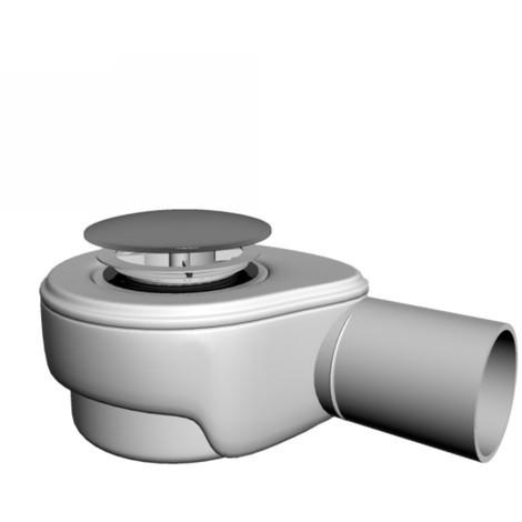 Bonde receveur de douche avec capot ABS– CLICK-CLACK – DN50 – 72.5 mm – 45 l/min - PRESS