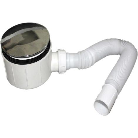Bonde Siphoide 90mm avec tuyau flexible