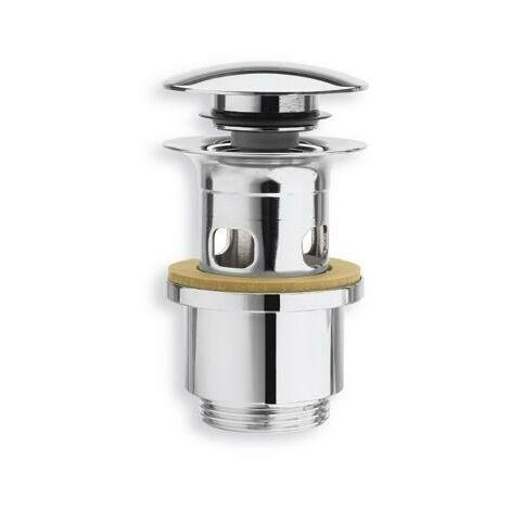 Bonde Up&Down pour lavabo avec trop plein 40-64 mm CHROME - CRISTINA ONDYNA BUP0651
