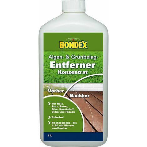 Bondex Algen und Moos Entferner 1 l, farblos