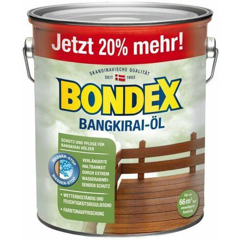 Bondex Bangkirai Huile 3,00 l – 329610