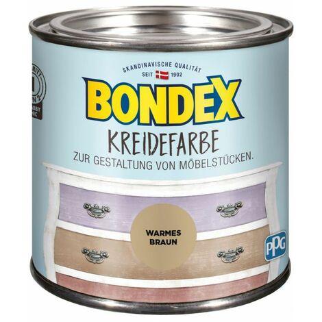 Bondex Craie couleur brun chaud 0,5 l 386534