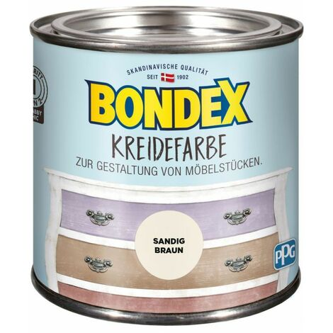 Bondex Craie couleur brun sable 0,5 l 386524