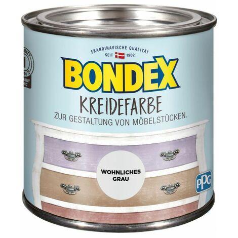 Bondex Craie couleur gris chaleureux 0,5 l 386525
