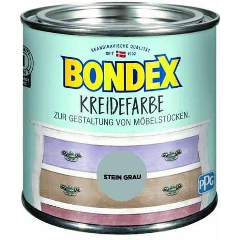 Bondex Craie couleur gris pierre 0,5 l 386526