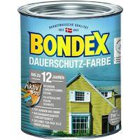 Bondex Dauerschutz-Holzfarbe Taupe Hell 0,75 l - 372207