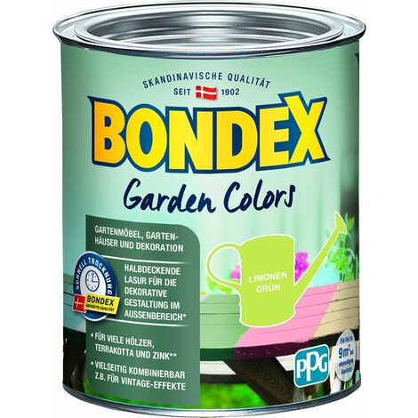 Bondex Garden Colors 750 ml, limonen grün