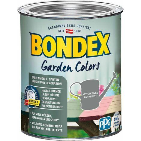 Bondex Garden Colors anthracite attrayant 0,75l – 389266