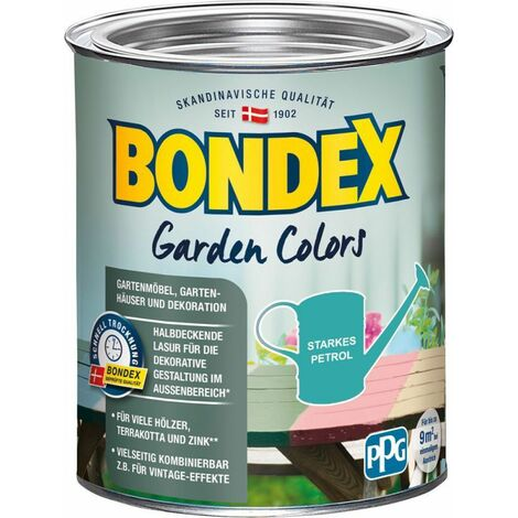 Bondex Garden Colors petrol forte 0,75l – 389185