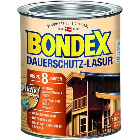 Bondex glacis de protection de longue durée 895 rio palissandre 0,75 l - 329936