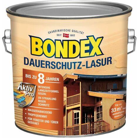 Bondex glacis de protection de longue durée Pin d'Oregon / miel 2,50 l - 329915