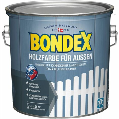 """main image of """"BONDEX Holzfarbe für Außen, 2,5 l, Langzeitschutz, hochdeckend, wetterschutz"""""""