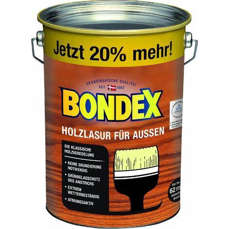 Bondex Holzlasur für Aussen 4,8 l, dunkelgrau
