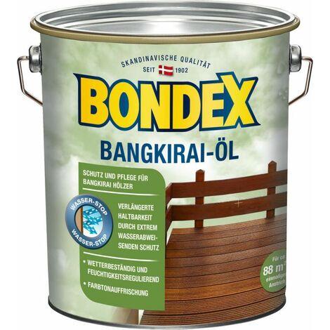 Bondex Huile Bangkirai 4,00 l – 329611