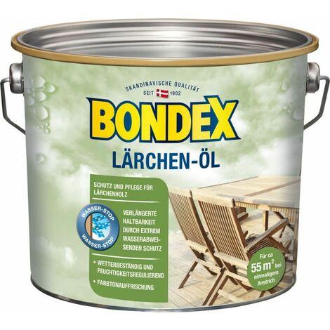 Bondex Huile de mélèze 2,50 l - 329618