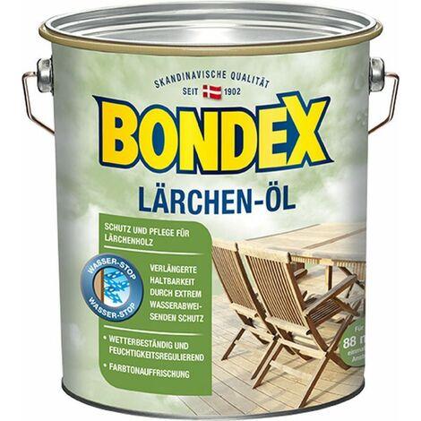 Bondex Huile de mélèze 4,00 l - 329619