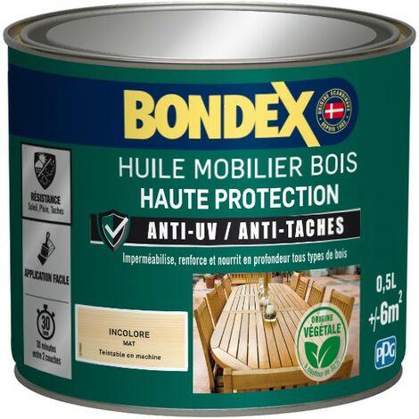 Bondex Huile mobilier bois haute protection