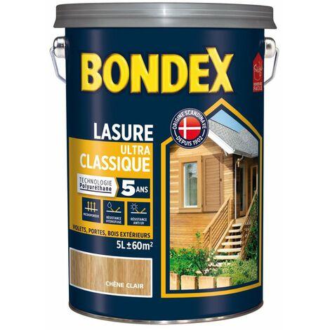 BONDEX LASURE CLASSIQ.5ANS 6L CH.DORE (Vendu par 1)