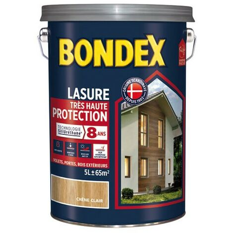 BONDEX LASURE HTE PROTEC.8ANS 5L INC. (Vendu par 1)