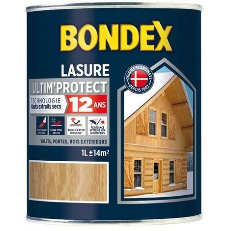 BONDEX LASURE ULTIM PRO.12ANS 6L TECK (Vendu par 1)