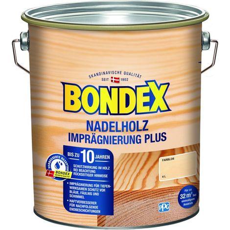 Bondex Nadelholz Imprägnierung Plus Farblos 4,00 l - 330912