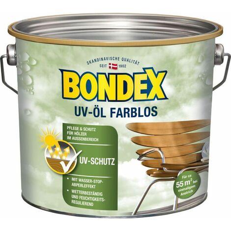 Bondex UV Huile universelle incolore 2,50 l – 365224