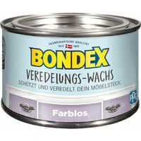 Bondex Veredelungs-Wachs Transparent 0,25 l - 392733