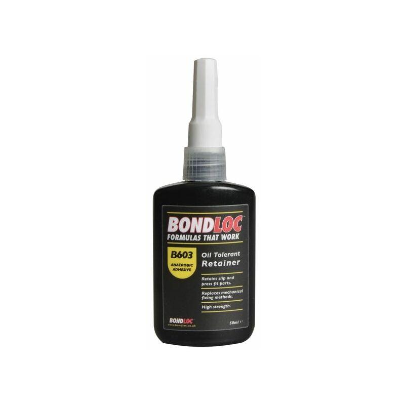 Image of Bondloc - B603 Oil Tolerant Retaining Compound 50ml (BONB60350)