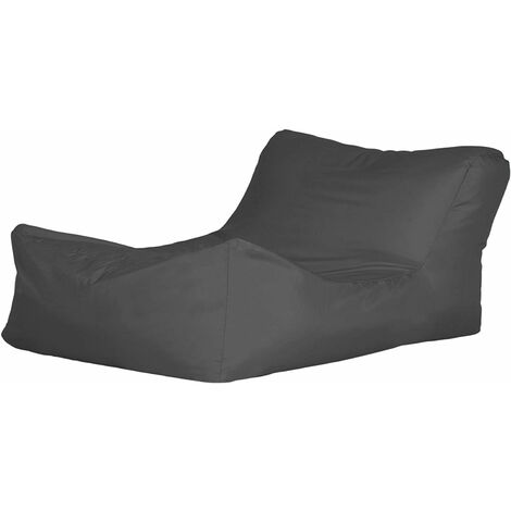 Bonkers Polyester Lounger Bean Bag Water Resistant with Beans Filling - Orange