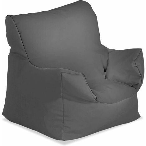 Bonkers Water Resistant Baby Chair Bean Bag with Beans Filling - Light Blue