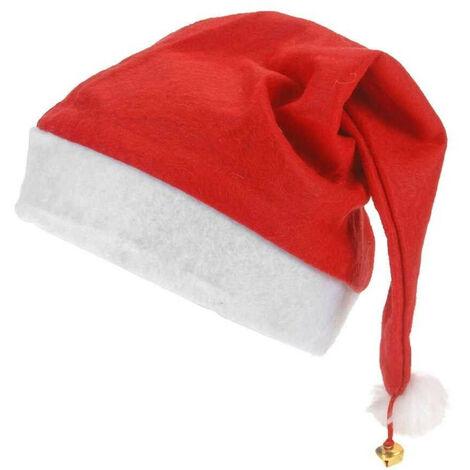 Bonnet de Noël avec clochette Rouge