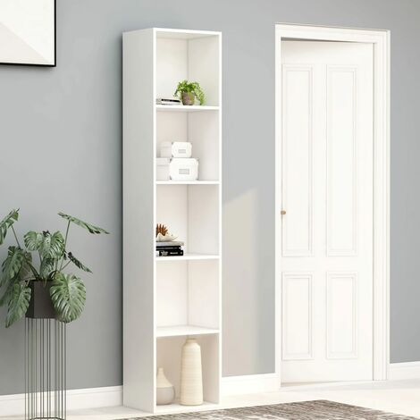 Book Cabinet White 40x30x189 cm Chipboard