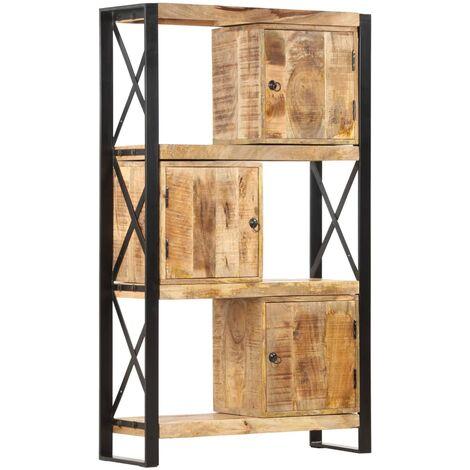 Bookshelf 90x30x150 cm Solid Mango Wood