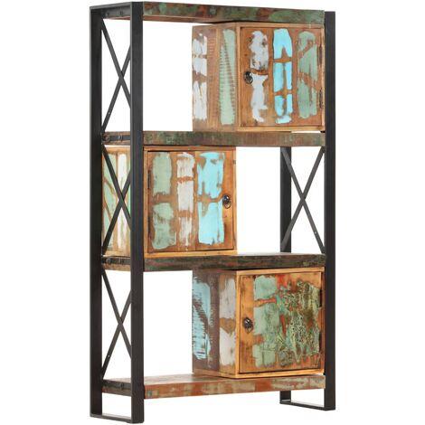 Bookshelf 90x30x150 cm Solid Reclaimed Wood