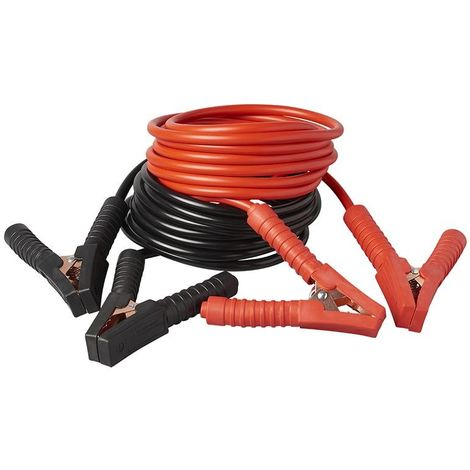Booster cables 400Amp. with insulated clamps