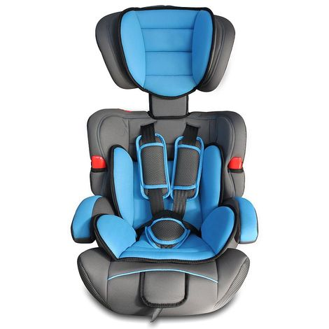 Booster Car Seat, Baby and Children Car Seat, Blue, 4 to 16.3lbs, Standard/Certification: ECE R44/04
