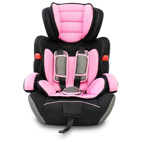 Booster Car Seat, Baby and Children Car Seat, Pink, 4 to 16.3lbs, Standard/Certification: ECE R44/04