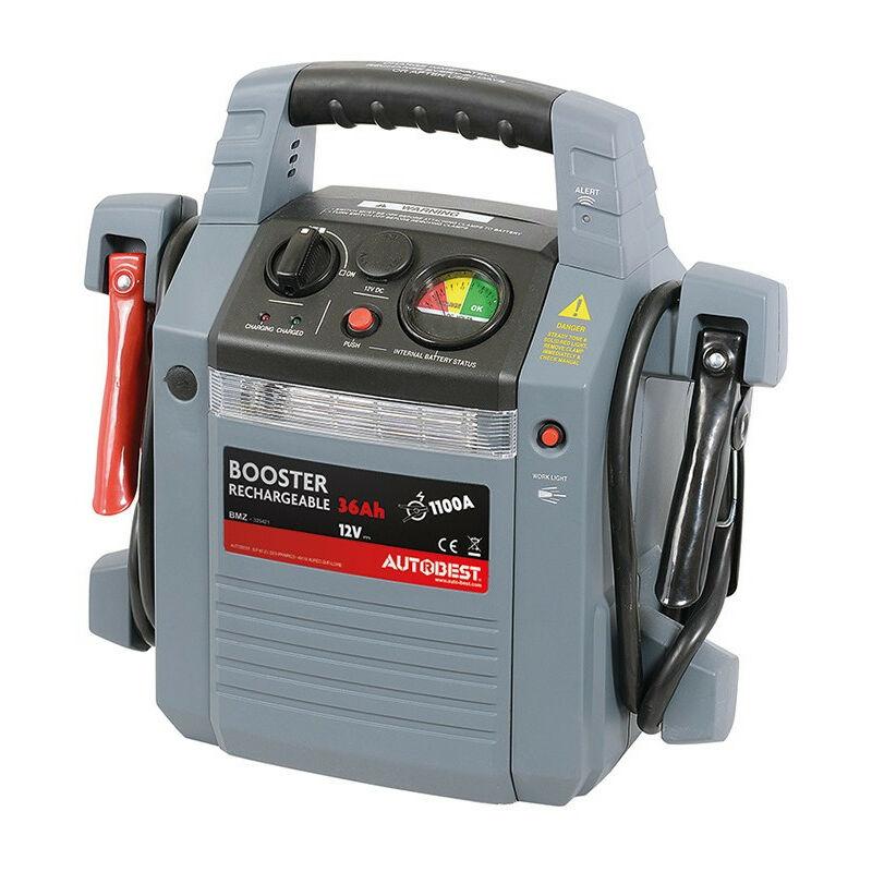 Booster de batterie 36Ah fonction aide au démarrage 1100A AUTOBEST