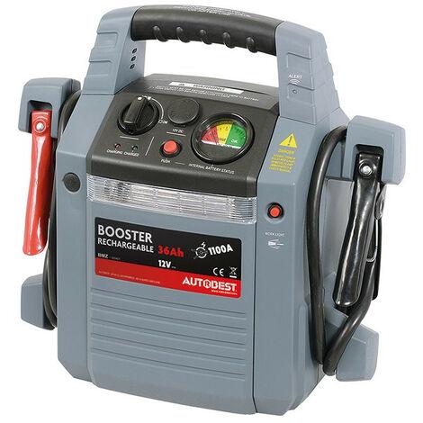 Booster de batterie 36Ah fonction aide au démarrage 1100A - AUTOBEST