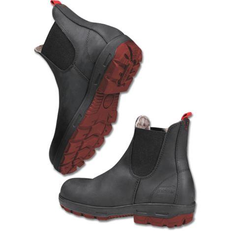 Boots écurie cuir fourré à élastiques Leeds hiver COULEUR - Noir, POINTURES - 40 ELT