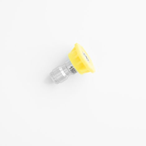 Boquilla 15º angulo dispersion amarilla universal hidrolimpiadora