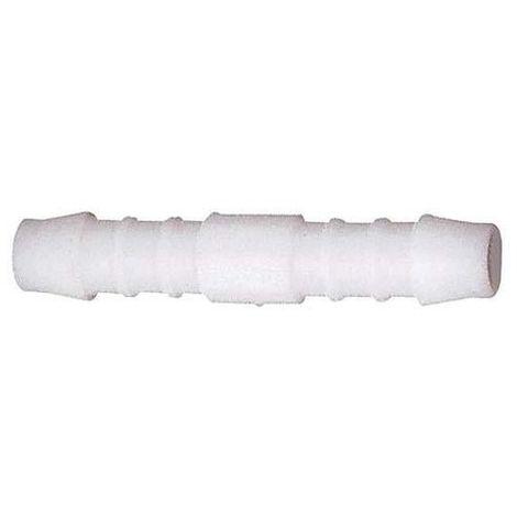 Boquilla de conoxión de tubos recta, acyal copolímero (POM) D12