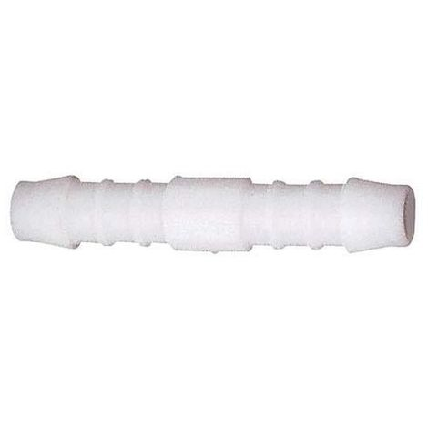 Boquilla de conoxión de tubos recta, acyal copolímero (POM) D19