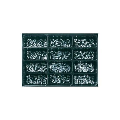 Boquilla de engrase cónica DIN 71412, galvanizada 225un