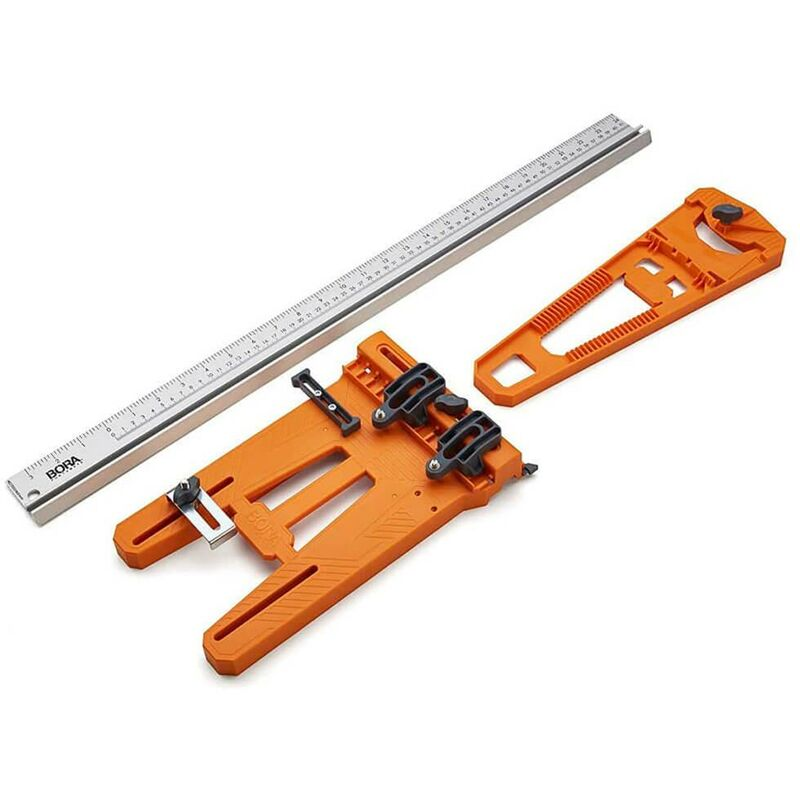 Image of BORA Circular Saw Straight Edge Cut Plate Jig Guide and Rip Guide BOR-544008