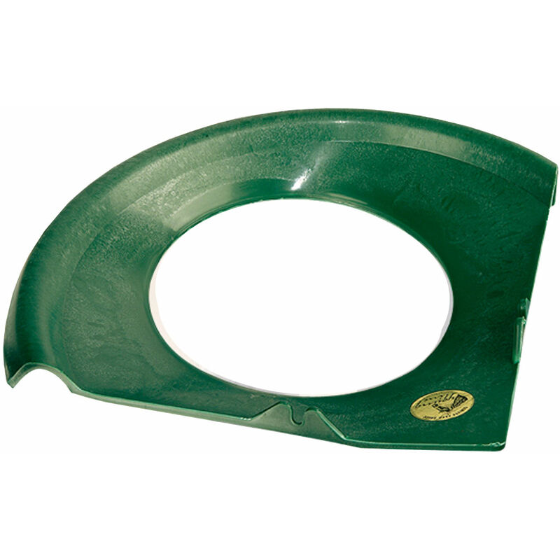 Bord en plastique anti-déchets pour distributeur d'angle rond art. ERO25427 Ok Plast