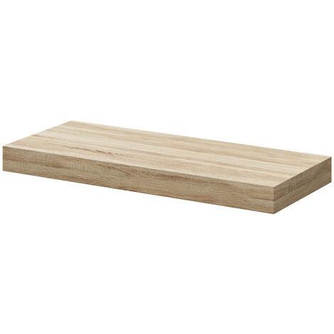 Bordalino Oak 300mm Floating Bathroom Shelf