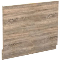 Bordalino Oak 700mm Bath End Panel