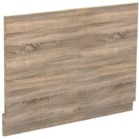 Bordalino Oak 750mm Bath End Panel