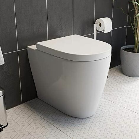 Bordeaux Back To Wall Toilet & Soft Close Seat